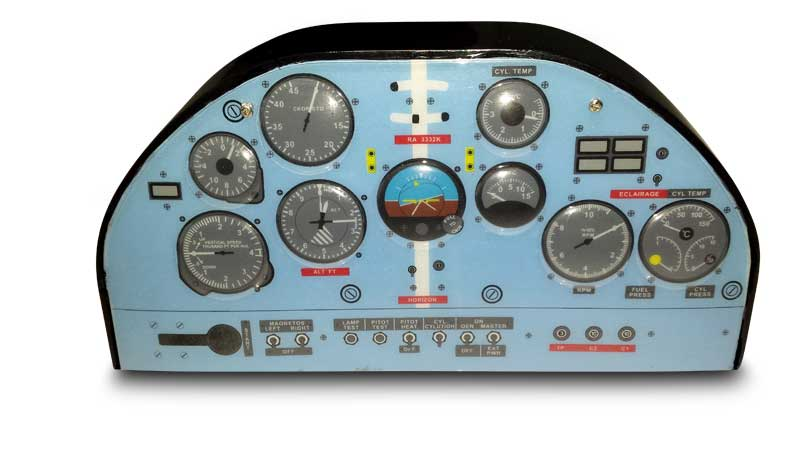 Extreme Flight Dash Panel V2 Spare Parts And Accessories