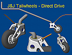 J&J Direct Drive Alloy Tailwheel