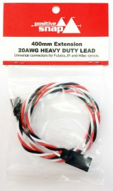 Positive Snap Universal Servo Extension Leads