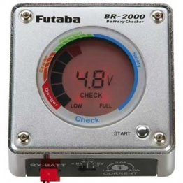 Futaba Battery Checker BR2000