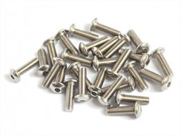 Stainless Steel Button Head Bolts M3