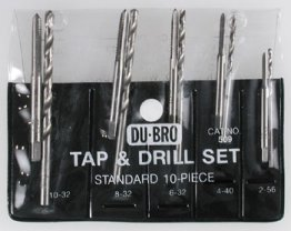 Dubro Tap Set (Imperial)