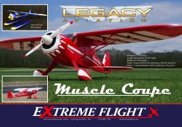"Legacy Aviation 72"" Muscle Coupe by Extreme Flight"