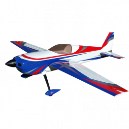 "AJ Aircraft 115"" Laser 230Z Valour (Red/Blue)"