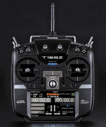 Futaba 16SZ Transmitter and R7008SB Receiver